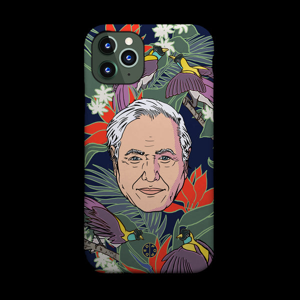 Attenborough Homage Phone Case