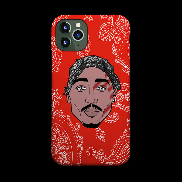 Tupac Homage Phone Case