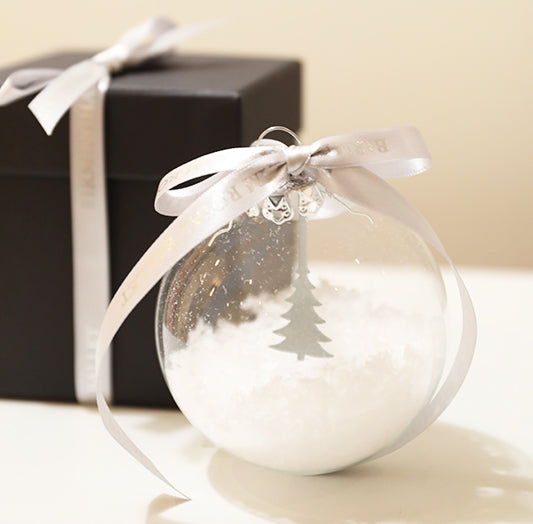 Silver Tree Bauble (Limited Edition)