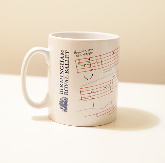 Benesh Notation Mug (The Nutcracker)