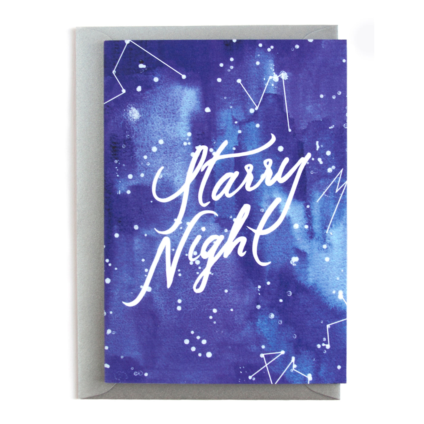 'Starry Night' Christmas Card