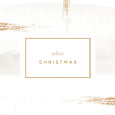 'White Christmas' Christmas Card by A L'aise