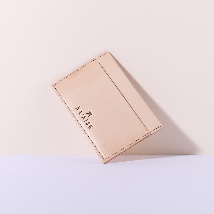 Natural Leather Multi Card Holder by A L'aise