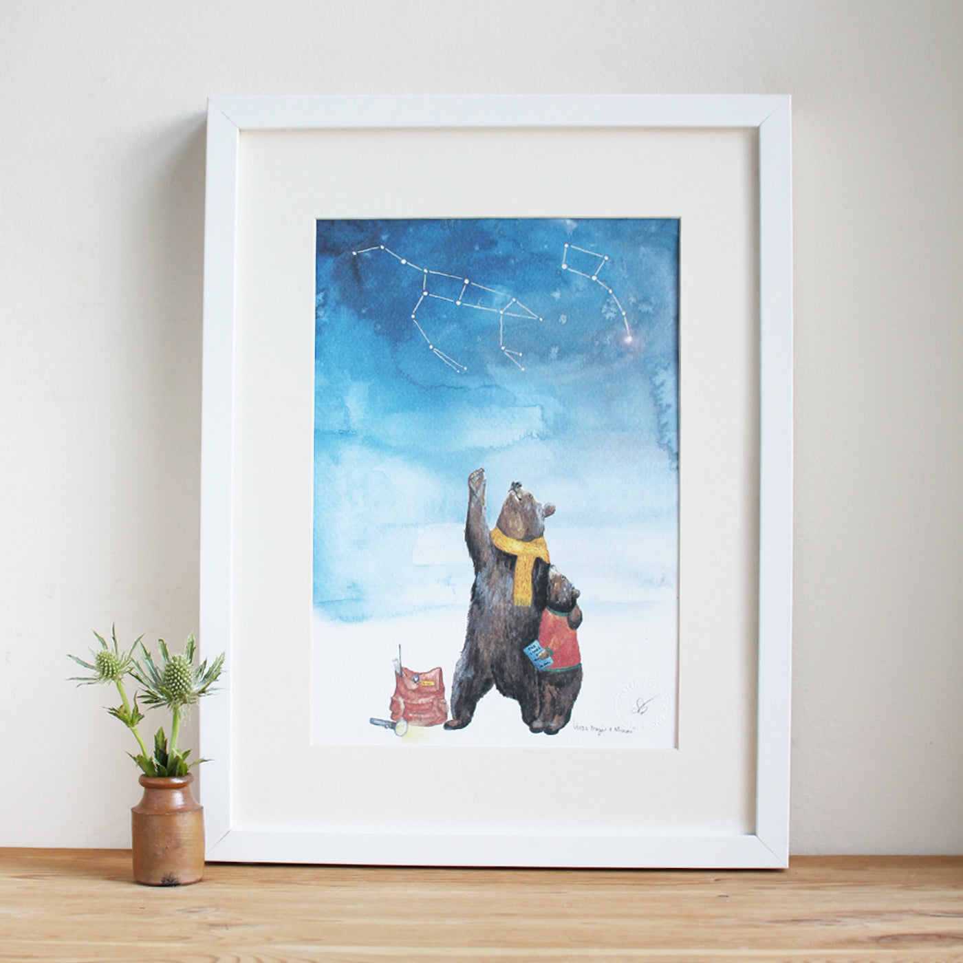 A3 URSA Major & Minor Art Prints