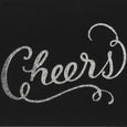 'Cheers' Christmas Card