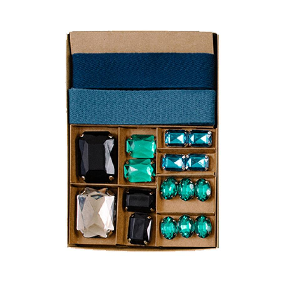 Emerald Gem Gift Wrap Kit