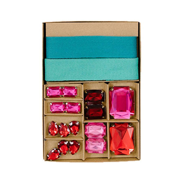 Scarlett Gem Gift wrapping kit