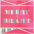 'Merry & Bright' Gem Christmas Card
