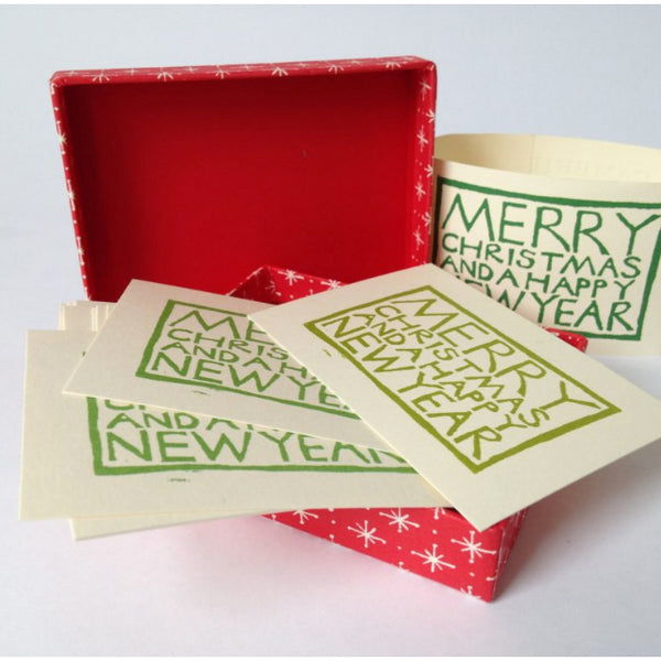 Box of 30 artisan Christmas Gift tags by Cambridge Imprints
