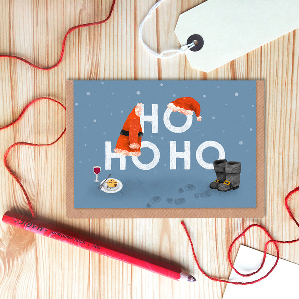 HoHoHo Christmas Card Set of 6