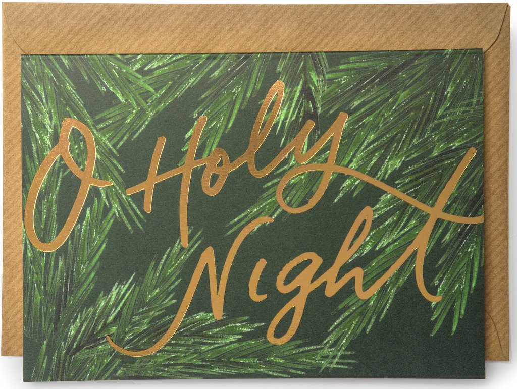 'O Holy Night' Christmas Card
