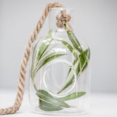 Glass Hanging Bucket