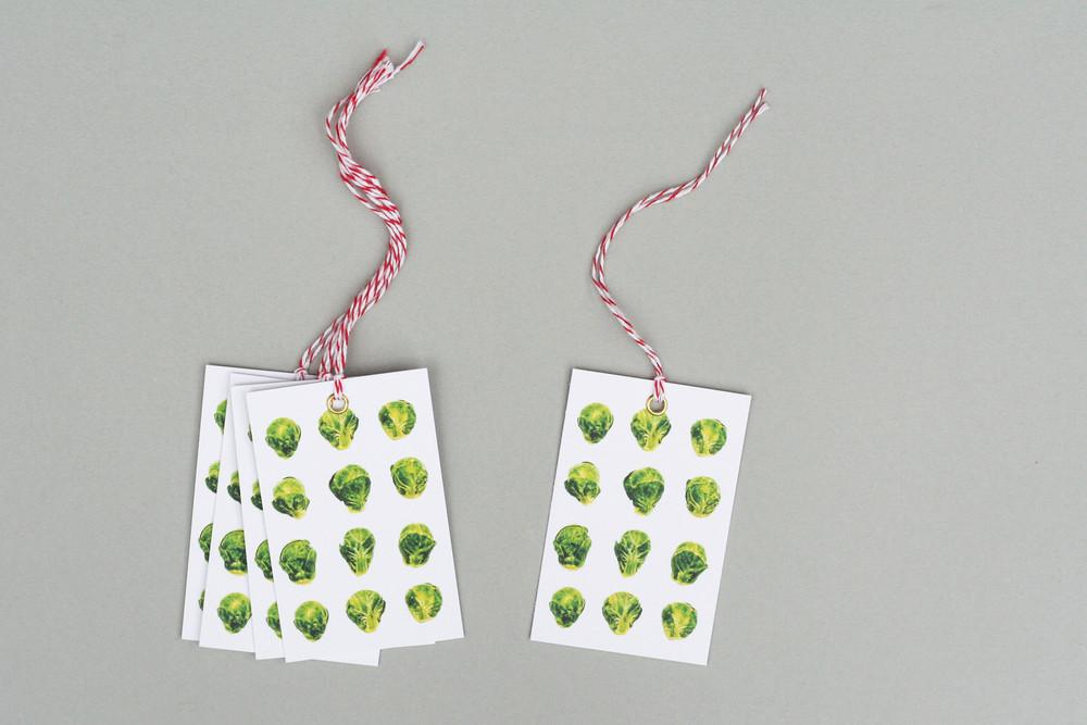 Brussels sprout tags