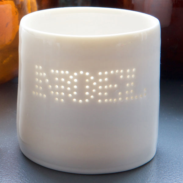 Mini NOEL tea light holder