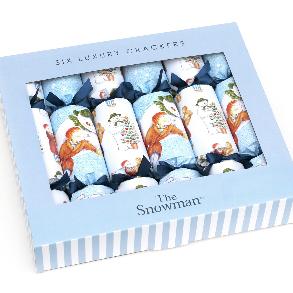 The Snowman Christmas Crackers x 6