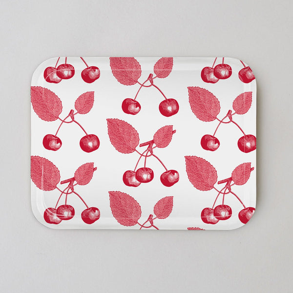 Cherry, Red & Pink tray