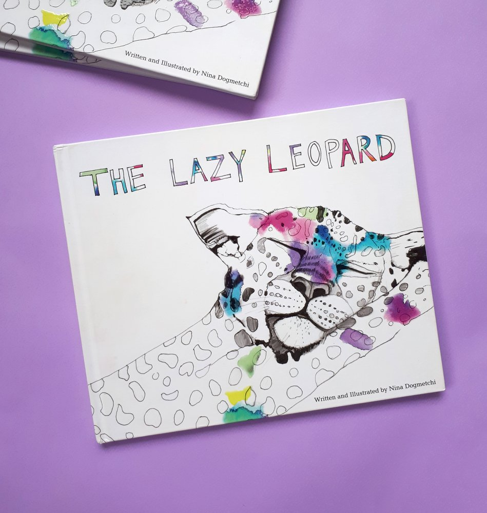 The Lazy Leopard Children's Book