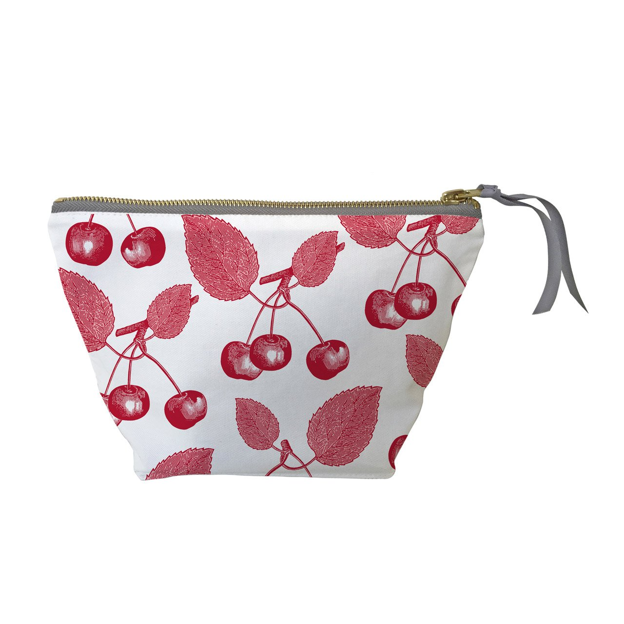 Cosmetic Bag - Cherry, Red  &  Pink