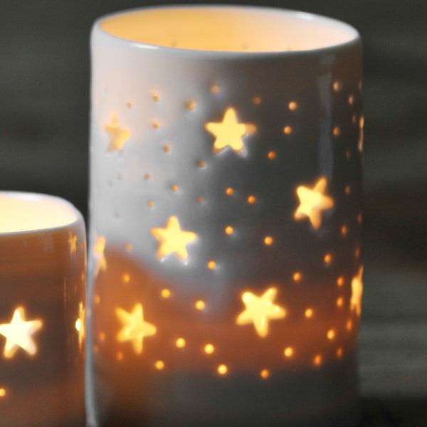 maxi stars tea light holder
