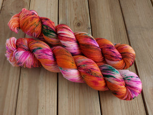 Desert Rose - Merino & Nylon - 4ply Fingering