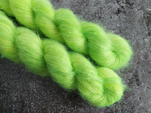 Hot Lime - Mohair/Silk - Lace