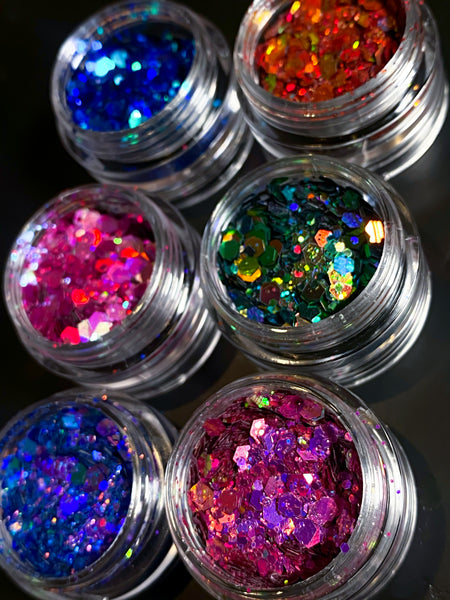 Galactic glitter stack