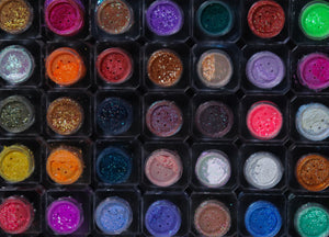 45 Pcs Set Full DFA Shimmer Pigment Collection