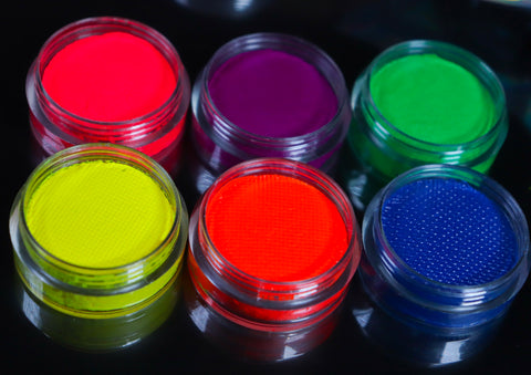6pcs Neon Water Base Liner