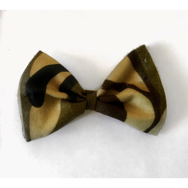 Over Camouflaged Hair Clip