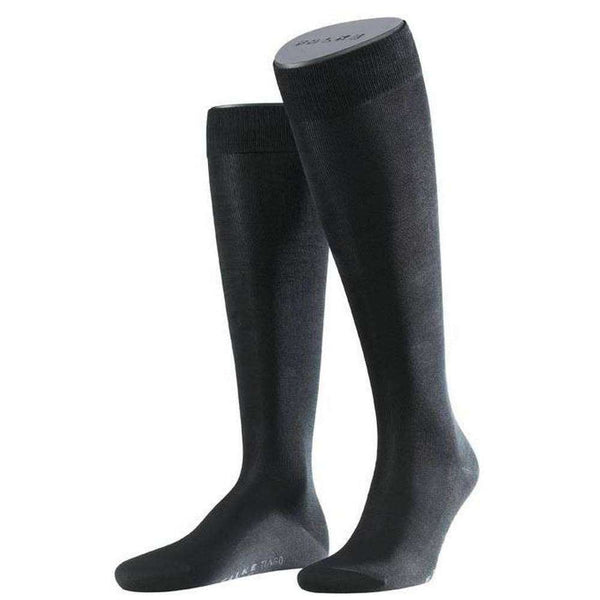 Falke Black Tiago Knee High Socks
