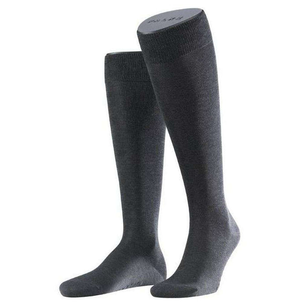 Falke Grey Tiago Knee High Socks