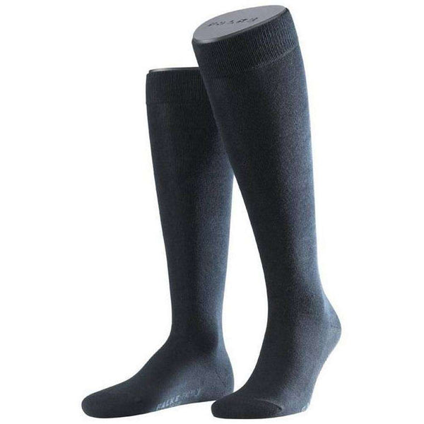 Falke Navy Family Knee High Socks