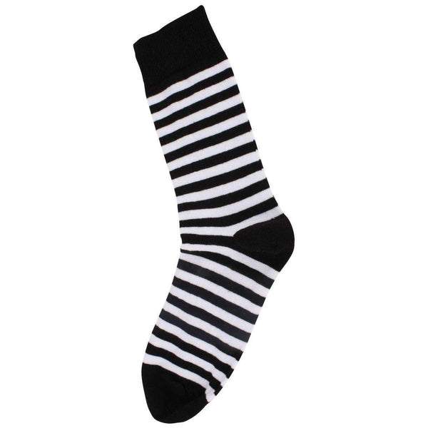 MySocks White Striped Socks