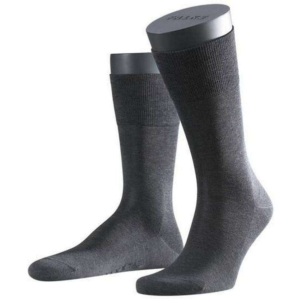 Falke Grey Melange Tiago Midcalf Socks