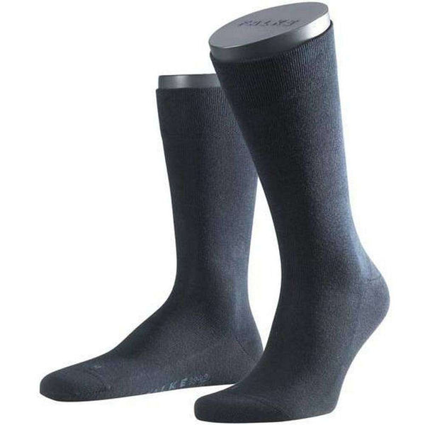 Falke Navy Sensitive London Midcalf Socks
