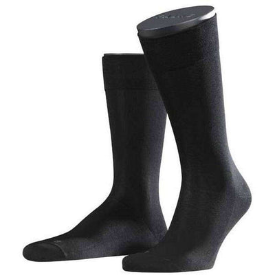 Falke Black Sensitive Malaga Midcalf Socks