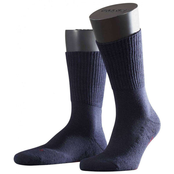 Falke Navy Walkie Light Midcalf Socks