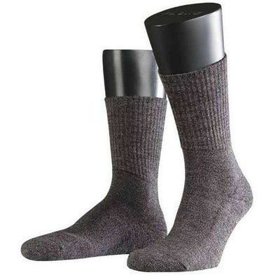 Falke Brown Smog Walkie Light Midcalf Socks