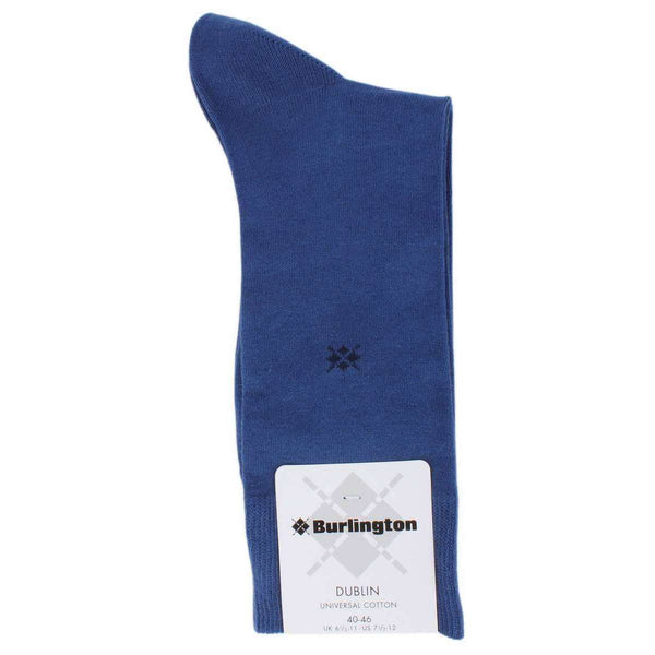 Burlington Blue Dublin Socks