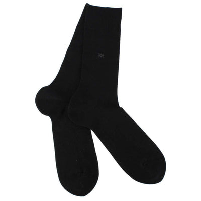 Burlington Black Dublin Socks