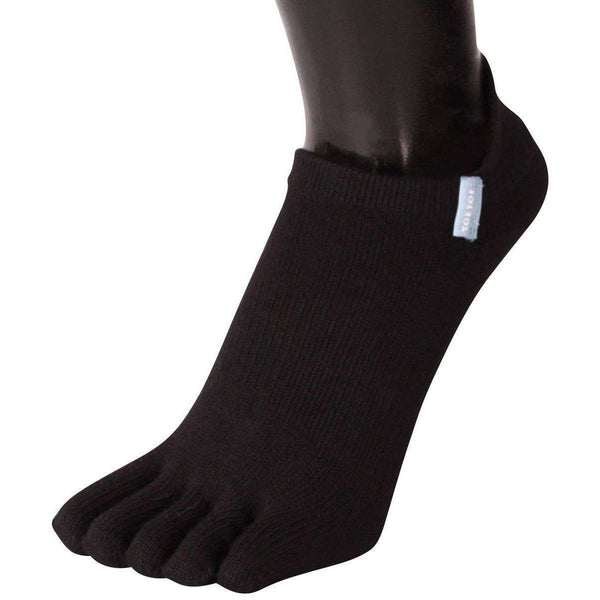 TOETOE Black Running Trainer Toe Socks