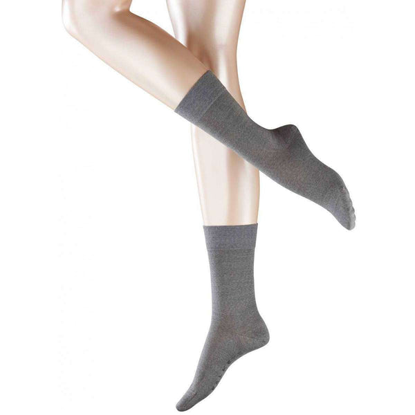 Falke Grey Sensitive Berlin Socks