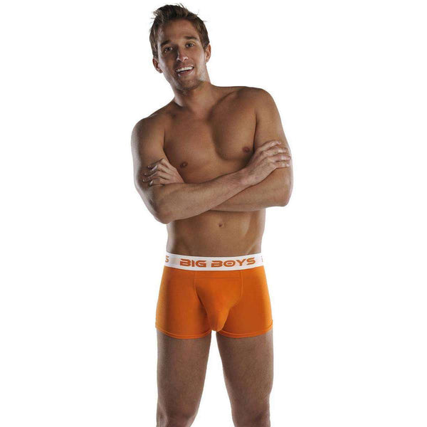 Big Boys Orange Boxer Briefs