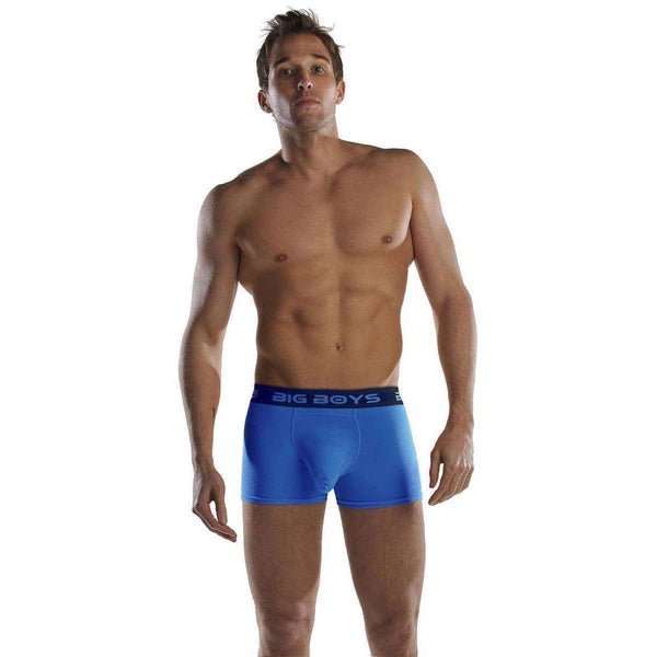 Big Boys Blue Boxer Briefs