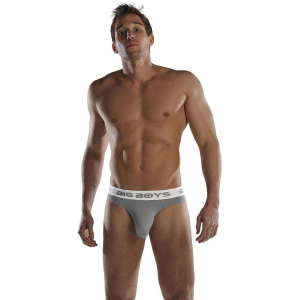 Big Boys Grey Mini Briefs