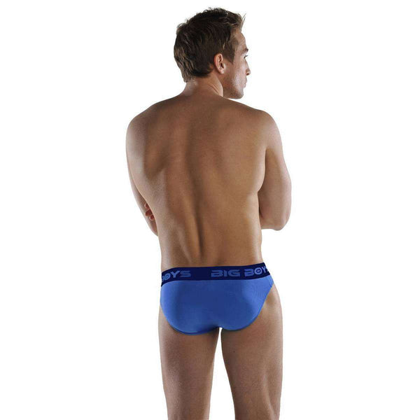Big Boys Blue Mini Briefs