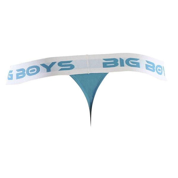 Big Boys Blue Thong