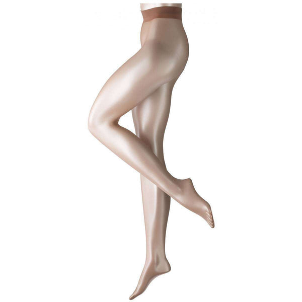 Falke Tan Shelina 12 Denier Ultra-Transparent Shimmer Tights