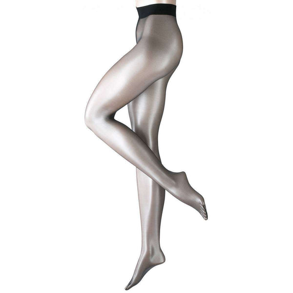 Falke Black Shelina 12 Denier Ultra-Transparent Shimmer Tights