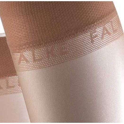 Falke Tan Shelina 12 Denier Ultra-Transparent Sensitive Top Shimmer Knee-High Tights